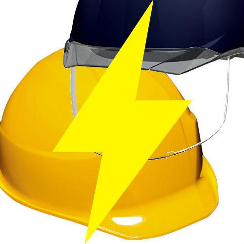 安全ヘルメット 作業用ヘルメット 保護帽 電気工事対応 カテゴリー