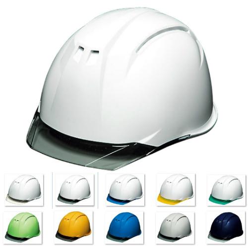 透明ひさし クリアバイザー 安全ヘルメットDIC AA11-C