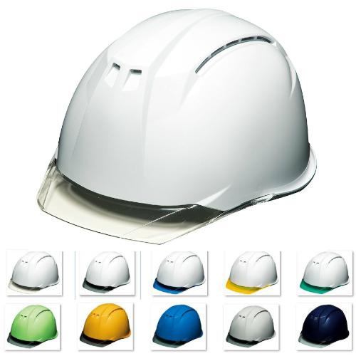 透明ひさし クリアバイザー 安全ヘルメット DIC AA11-CW