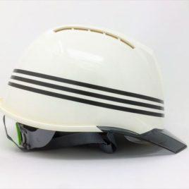 ヘルメット 工事用 作業用 建設用 建築用 現場用 高所用 安全 保護帽 名入れ ネーム 印刷 プリント 加工 名前 会社名 個人名 ロゴ マーク ライン