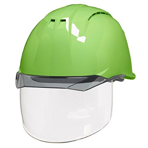 ワイドシールド面 安全ヘルメット DIC AA11-CSW