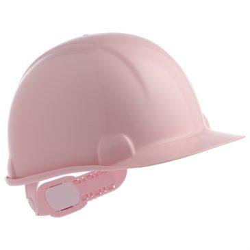 【安全ヘルメットご紹介】女性用安全ヘルメットもあります!【さくら色(ピンク)】