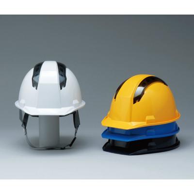 ヘルメット 工事用 作業用 建設用 建築用 現場用 高所用 安全 保護帽 通気性 ベンチレーション DIC A07-WV 飛来落下物用 墜落時保護用 国家検定合格品