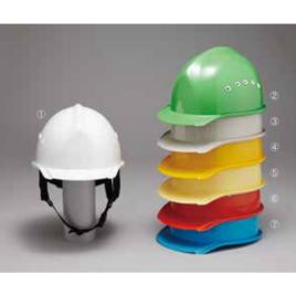ヘルメット 安全 作業用 工事用 建築用 建設用 保護帽 通気孔付き 加賀産業 GS-18VK (BH-1B)