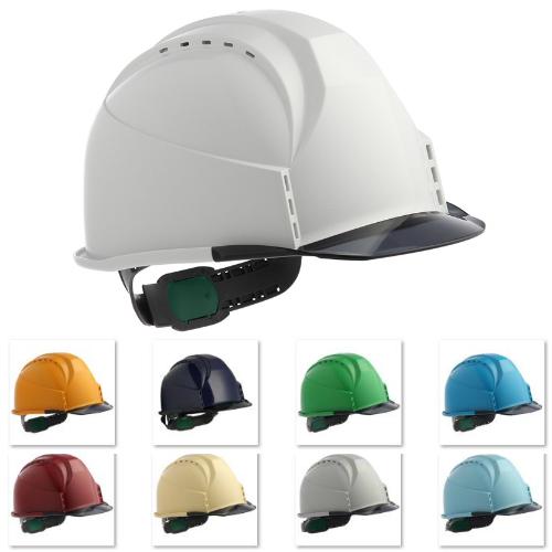 透明ひさし クリアバイザー 安全ヘルメット 保護帽 住ベテクノプラスチック KKC3-B