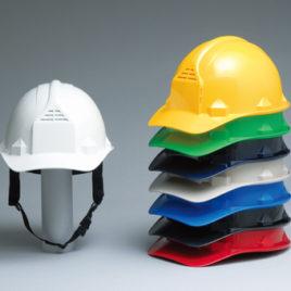 ヘルメット 安全 作業用 工事用 建築用 建設用 保護帽 通気孔付き 加賀産業 GS-33FFVK(FF-1F)