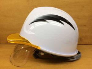 名入れ 印刷 加工 名前 ヘルメット 安全 工事用 作業用 建設用 建築用 保護帽 プリント 加工 会社名 ステッカー デザイン