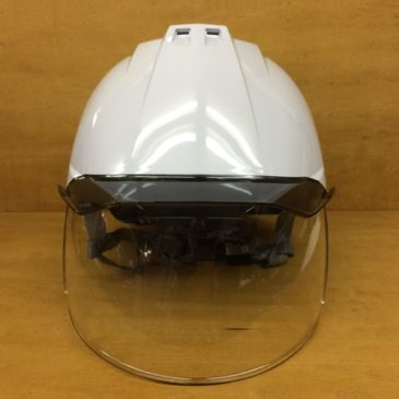 【フォトギャラリー】DIC ワイドシールド面付きヘルメット【AA11-CSW】