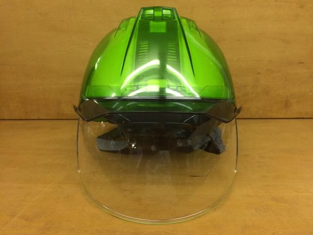 安全ヘルメット スケルトン 透明 DIC AA11-CS