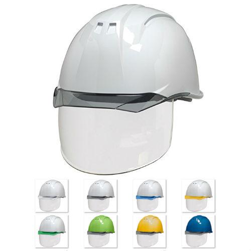 安全ヘルメット クリアバイザー シールド DIC AP11-CS