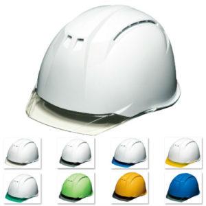 安全ヘルメット クリアバイザー DIC AP11CW