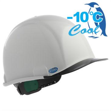 【新商品】-10℃! Nクール新作『SAX2シリーズ』遮熱ヘルメット(電気用対応)【熱中症対策】