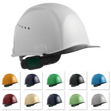 【新商品】住ベ『SAX2C-A』安全ヘルメット(通気孔付き)【超薄型エアシート】