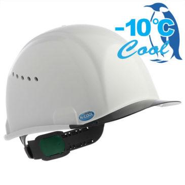 【新商品】-10℃! Nクール新作『SAX2シリーズ』遮熱ヘルメット(通気孔付き)【熱中症対策】