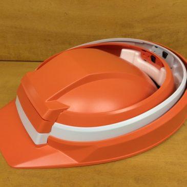 【フォトギャラリー】折りたたみ式! 防災ヘルメット【DIC IZANO(イザノ)】