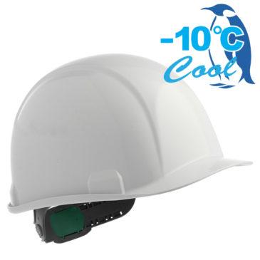 【新商品】-10℃! Nクール遮熱練込み安全ヘルメット(電気用対応)【熱中症対策】