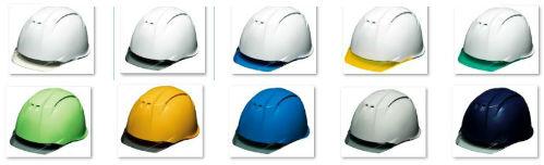 透明ひさし 透明バイザー クリアバイザー 安全ヘルメット DIC AA11CW カラー