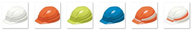 折りたたみ式防災ヘルメット DIC IZANO カラー
