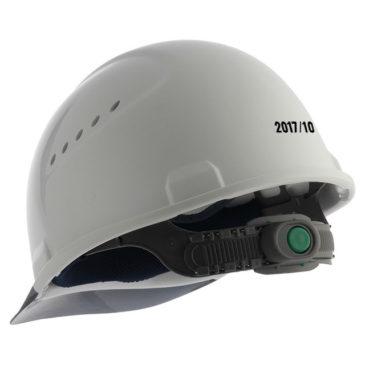 【名入れ加工】安全ヘルメットに『使用開始年月』を入れるアイデア!【安全対策】
