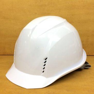 【フォトギャラリー】超軽量作業用ヘルメット【DIC AA16-FVKP ホワイト】
