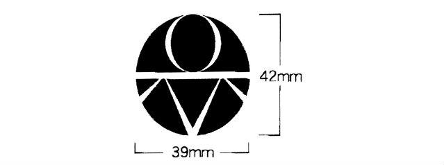 名入れ加工 名前 社名 ロゴマーク 安全ヘルメット 原稿 版下 サンプル 及川建設工業様