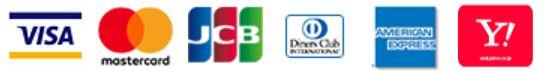 クレジットカード決済 VISAカード マスターカード JCBカード ダイナースクラブ アメリカン・エキスプレス・カード ヤフージャパンカード