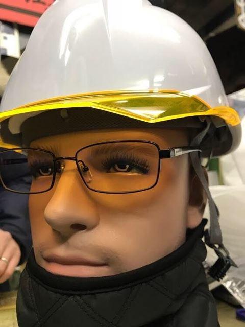 安全ヘルメット 作業用ヘルメット 保護帽 アンソニーくん