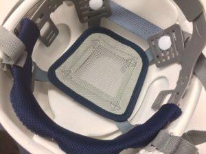 ヘルメット 作業用 安全 工事用 透明ひさし クリアバイザー 住ベテクノプラスチック スミハット SAX2シリーズ バナー