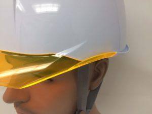 耐候性 屋外作業 PC樹脂 ヘルメット 作業用 安全 工事用 ヘルメット 保護帽 電気工事対応 DIC AP11-C