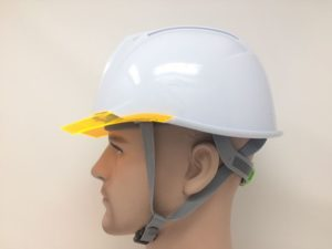 ヘルメット 作業用 安全 工事用 ヘルメット 保護帽 雨天対策 雨垂れ防止溝付き