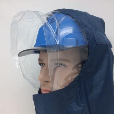 梅雨対策!雨の日に便利な工事用ヘルメット関連アイテム3選