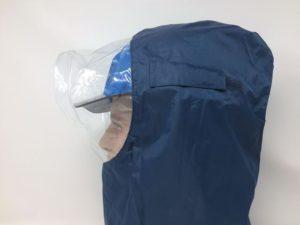 ヘルメット 作業用 安全 工事用 保護帽 雨天対策