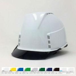 ヘルメット 工事用 作業用 建設用 建築用 現場用 高所用 安全 保護帽 透明ひさし クリアバイザー 通気孔 ヘッドライト対応 スミハット 住べテクノプラスチック KKXC-A